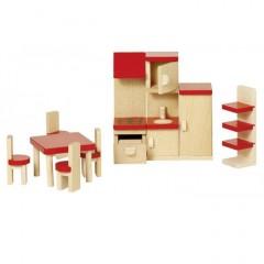 Goki Puppenhausmöbel Küche Basic
