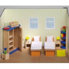 Goki Meble do domku dla lalek — Sypialnia Design