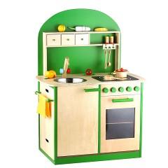 Sun 4123 Kinderküche natur-grün