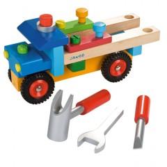 Janod Werkzeug-Lastwagen bunt