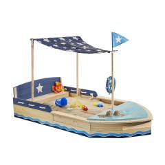 Sun bootvormige zandbak