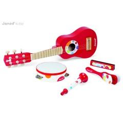 Janod Confetti - Musik Set rot
