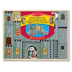 Melissa & Doug Holzblöcke für ein Schloss
