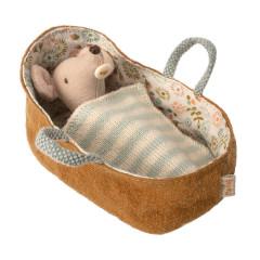 Maileg Baby Maus in Tragetasche