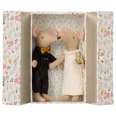 Maileg Mäuse-Hochzeitspaar in der Box