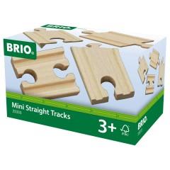 BRIO 1/4 Gerade Gleise (A2,B2,C2)
