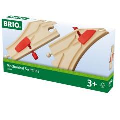 BRIO Mech. Weichenpaar (L1/M1)