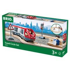 BRIO Pociąg osobowy — Zestaw startowy