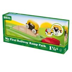 BRIO Mein erstes Bahn Rampen-Set