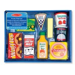 Melissa & Doug 14076 Alimenti in legno da frigo