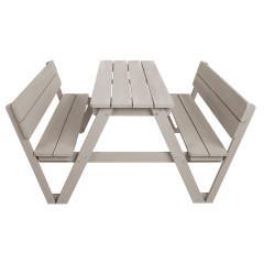 Roba Kindersitzgruppe PICKNICK for 4 mit Lehne