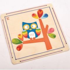 Hape Hoot Owl Paint and Frame - E5111
