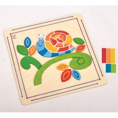 Hape Happy Snail Paint and Frame - E5112