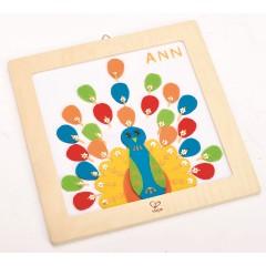 Hape Proud Peacock Embroidery Kit - E5102