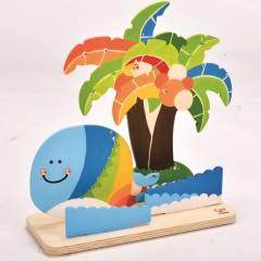 Hape Tropical Island Paint and Play - E5110
