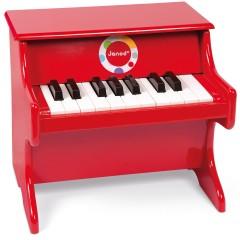 Janod Konfetti Piano rot