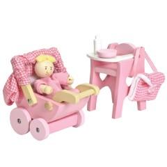 Le Toy Van babyverzorgset