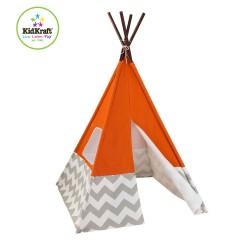 KidKraft Namiot dla dzieci / Tipi 00213 pomarańczowy