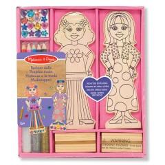 Melissa & Doug 14243 Modische Puppen