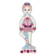 Melissa & Doug 14582 Ballerina Puppe