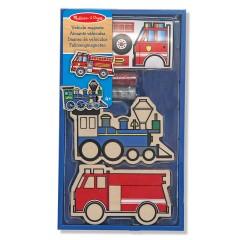 Melissa & Doug 14795 Fahrzeug-Magneten