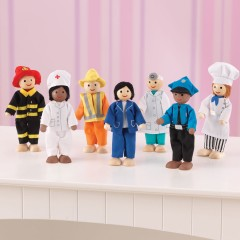 KidKraft Puppen-Set - Berufe
