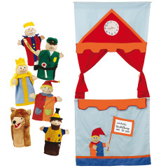 Roba Punch and Judy Show 6971 with puppets