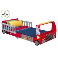 Fire Engine Toddler Bed.Kidkraft Fire Truck Toddler Bed 76031