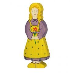 Holztiger Spielfigur Tochter