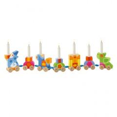 Sevi Geburtstagszug inkl. Kerzen