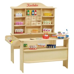Roba wooden toy shop 9286 ZU with accessories