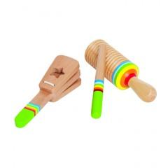 Hape Musikinstrumente Rhythmus-Set E0301