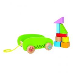 Hape Mini Arrastre Piezas - E0408