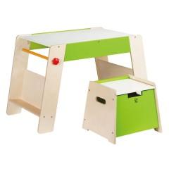 Hape Houten speelstation en stoel - E1015
