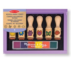 Melissa & Doug 12407 Wooden handle stamps