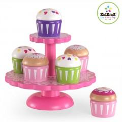 KidKraft Cupcake Stand with Cupcakes 63172