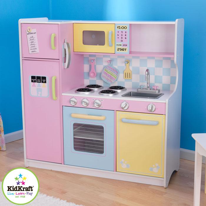 KidKraft Duża kuchnia w pastelowych kolorach 53181