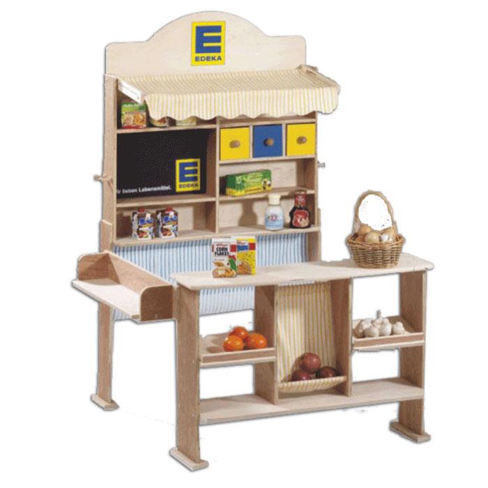Kaufladen aus Holz & Holzkaufladen bei pirum Holzspielzeuge