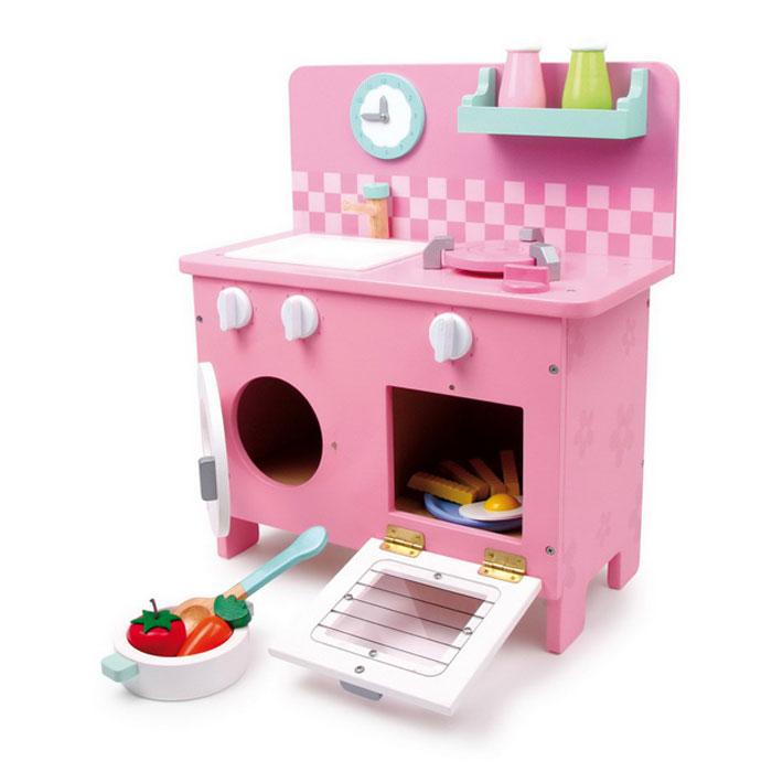 kinderk che rosali aus holz mit zubeh r kinderk chen g nstig gut. Black Bedroom Furniture Sets. Home Design Ideas