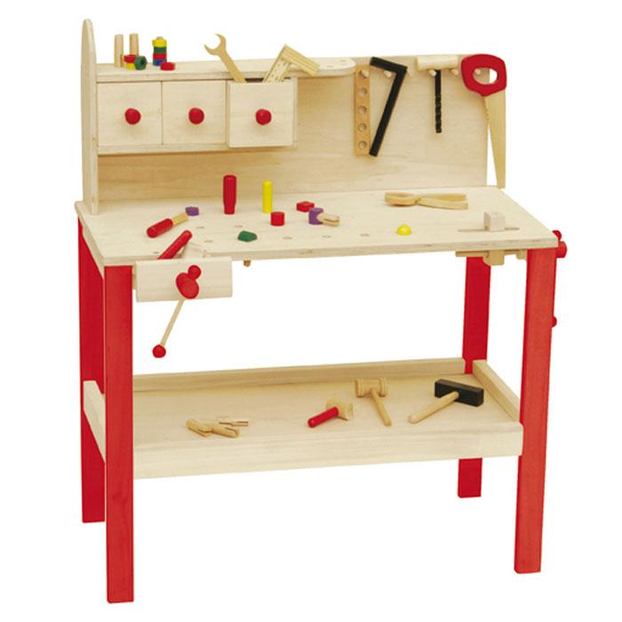 roba werkbank 97210 kinderwerkbank aus holz. Black Bedroom Furniture Sets. Home Design Ideas
