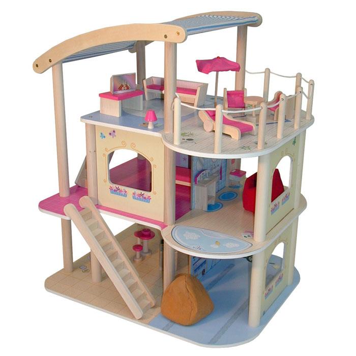 Roba 9456 casa delle bambole villa 3 piani pirum for Piani casa villa toscana
