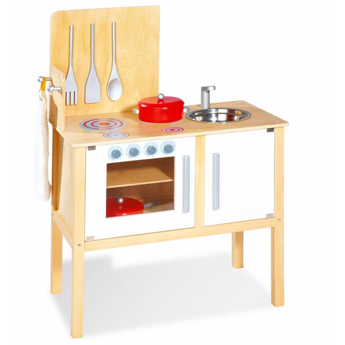 pinolino 229313 kinderküche jette aus holz | pirum-holzspielzeuge.de - Roba Küche