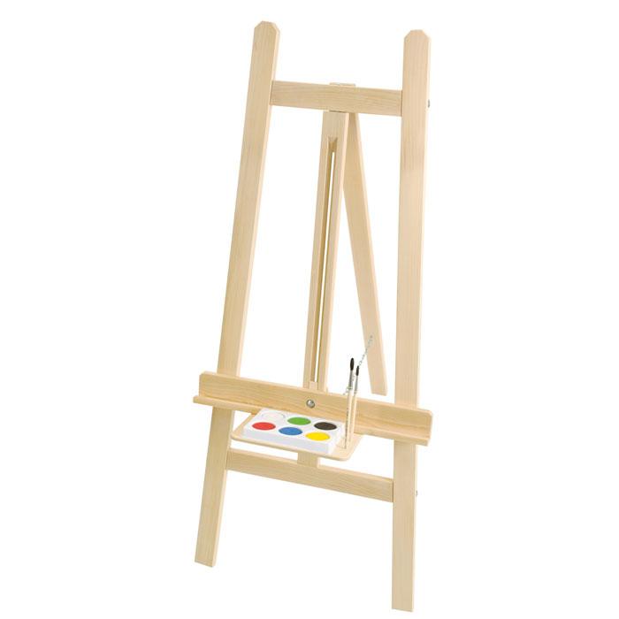 staffelei kinderstaffelei aus holz von nemmer. Black Bedroom Furniture Sets. Home Design Ideas