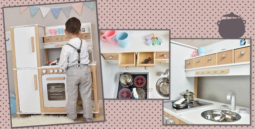 Piękne drewniane zabawki dla dzieci  Pirum -> Kuchnia Dla Dzieci Grand Soleil