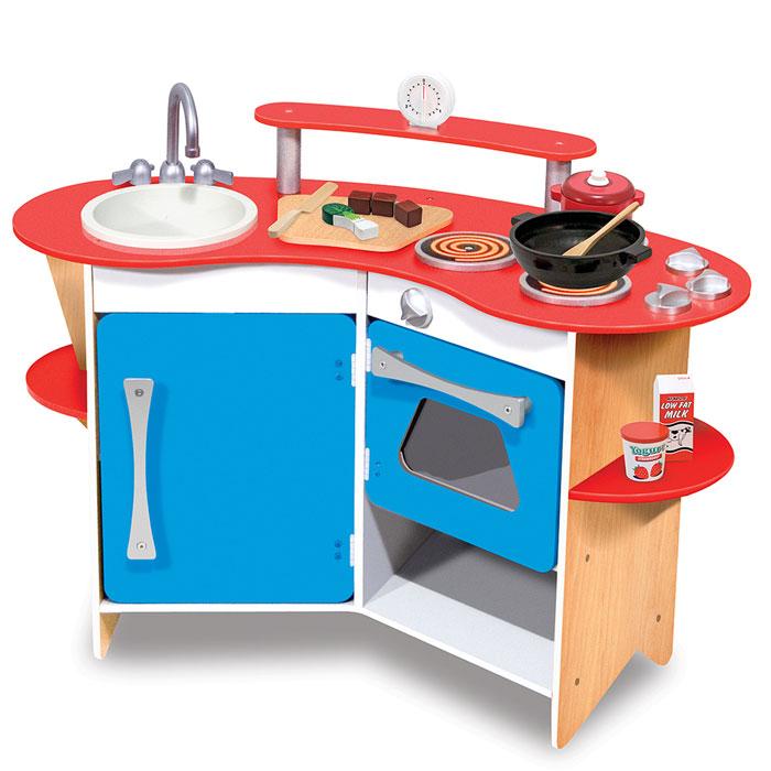 kinderk chen kinderk che aus holz von melissa doug. Black Bedroom Furniture Sets. Home Design Ideas