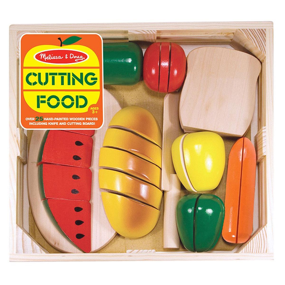 Melissa Doug 10487 Wooden Cutting Food