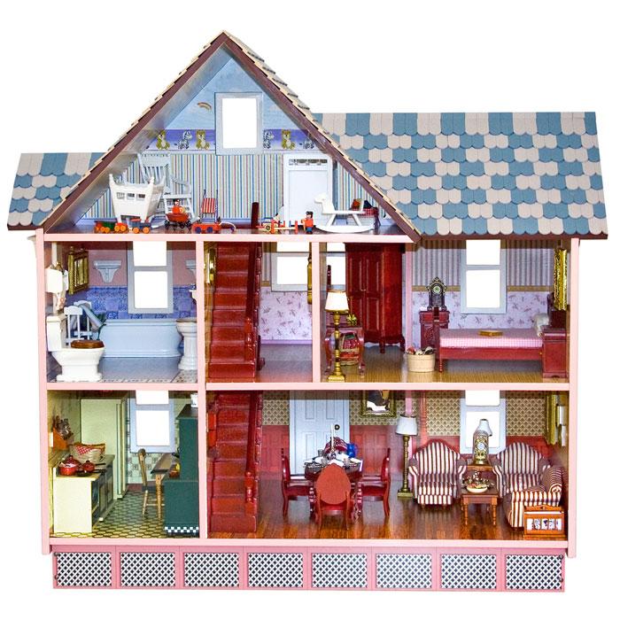 Melissa & Doug Puppenhaus viktorianisch 12580 aus Holz