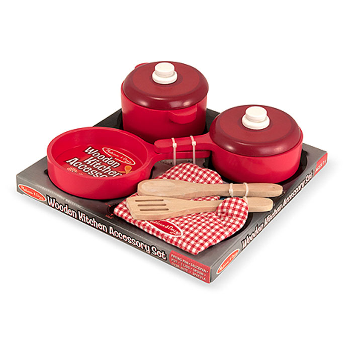Melissa And Doug Kitchen Pots And Pans Set