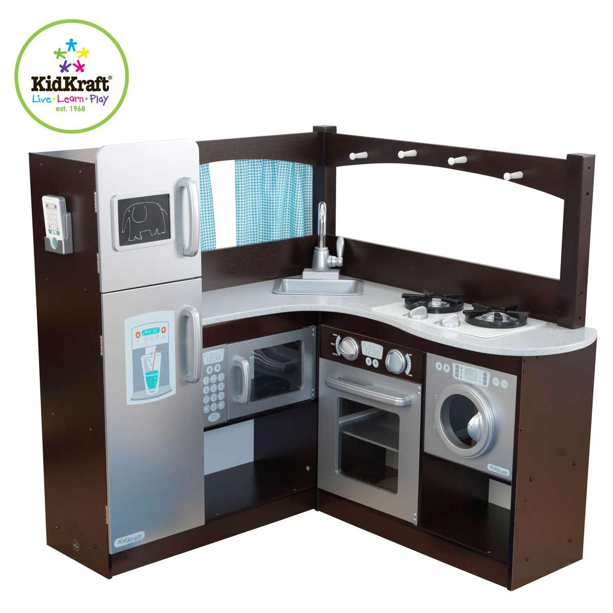 Kidkraft Narozna Kuchnia Dla Dzieci Espresso 53302 Pirum