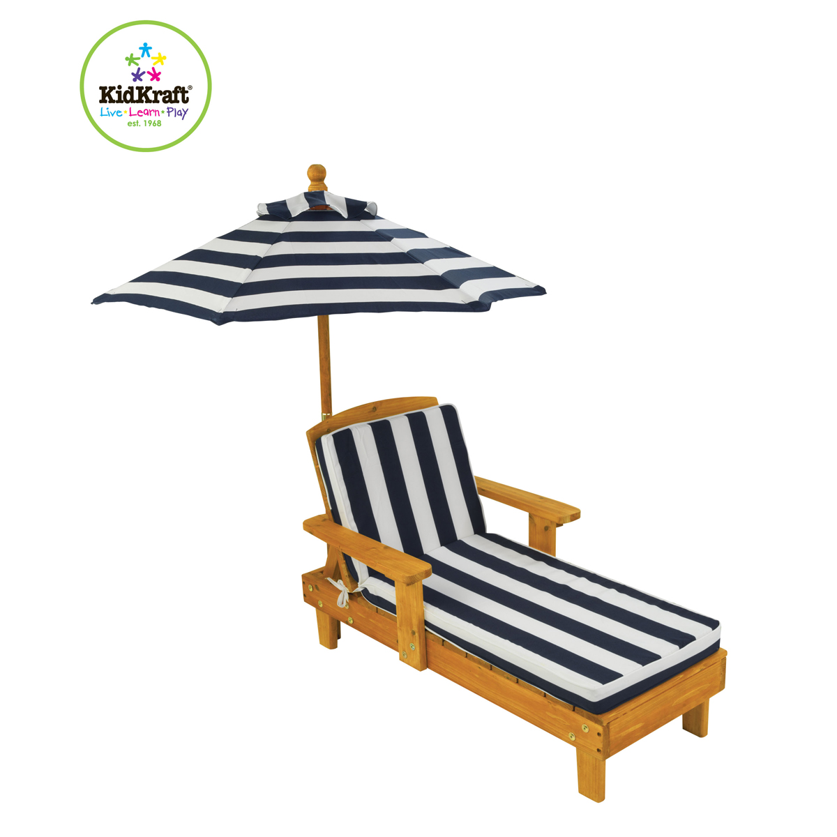 Kidkraft Outdoor Chaise With Umbrella 00105 Pirum